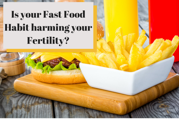 Could your fast food habit harm your fertility?
