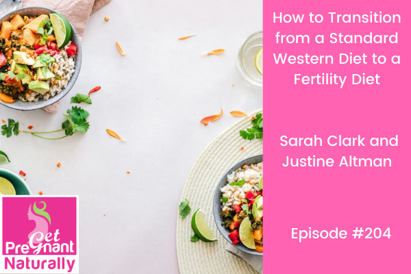 How to Transition from a Standard Western Diet to a Fertility Diet